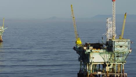 A-beautiful-aerial-shot-over-oil-derricks-and-platforms-in-the-Santa-Barbara-Channel-California-3