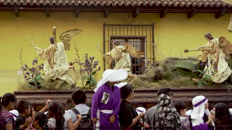 Colorful-Easter-celebrations-in-Antigua-Guatemala-include-decorated-giant-coffins