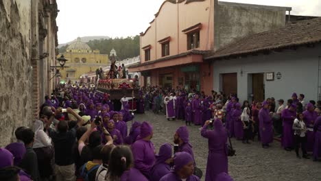 Robed-priests-carry-incense-burners-in-a-colorful-Christian-Easter-celebration-in-Antigua-Guatemala-4