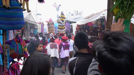 Holy-week-Easter-Catholic-procession-in-Chichicastenango-Guatemala-market-town-is-a-very-colorful-affair
