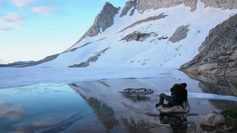 A-nature-photographer-works-alone-in-the-High-Sierra-4