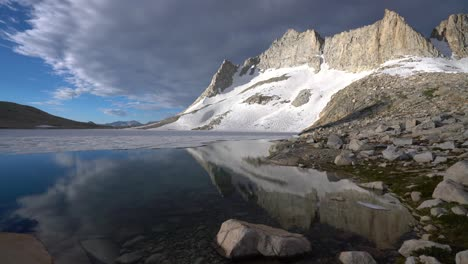 Reflection-of-Royce-peak-on-a-pristine-lake