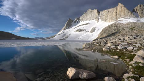 Reflection-of-Royce-peak-on-a-pristine-lake-1