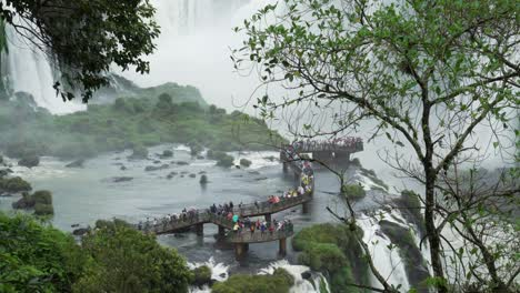 Tourist-walkways-Brazilian-side-of-Iguazu-Falls