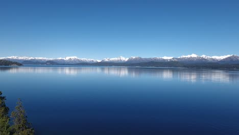 Aerials-of-the-Andes-and-natural-scenic-beauty-of-Lago-Nahuel-Huapi-Bariloche-Argentina