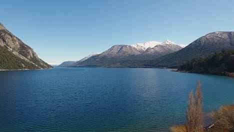 Aerials-of-the-Andes-and-natural-scenic-beauty-of-Lago-Nahuel-Huapi-Bariloche-Argentina-3