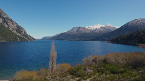 Aerials-of-the-Andes-and-natural-scenic-beauty-of-Lago-Nahuel-Huapi-Bariloche-Argentina-5