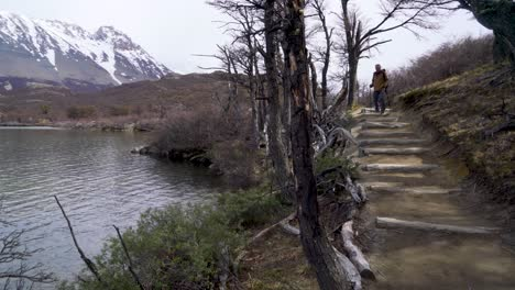 A-hiker-treks-thru-the-wilderness-on-an-adventure-in-cloudy-windswept-Fitz-Roy-National-Park-Argentina-3