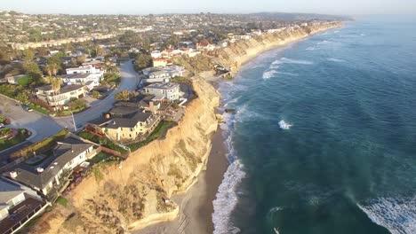 A-beautiful-aerial-above-the-California-coastline-north-of-San-Diego-1