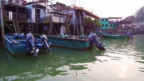 Toma-De-Establecimiento-De-La-Aldea-De-Pescadores-De-Tiao-En-Hong-Kong-China-1