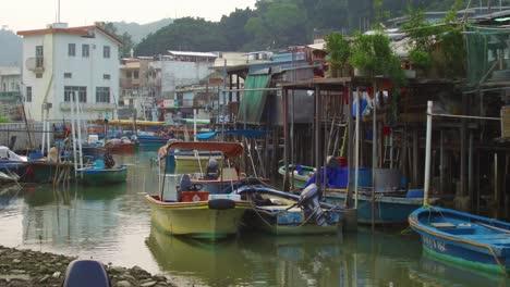 Establecimiento-De-Tiro-Desde-El-Pueblo-Pesquero-De-Tiao-En-Hong-Kong-China-3
