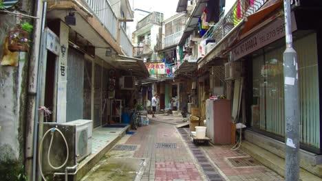 Establishing-shot-from-a-small-TiaO-fishing-village-in-Hong-Kong-China