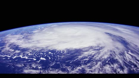 View-of-Tropical-Storm-From-Space