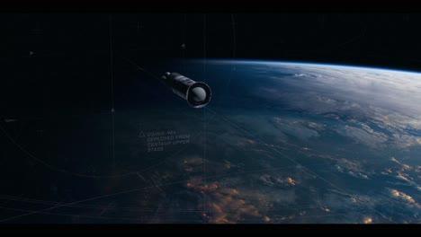 Una-Toma-Animada-De-Un-Cohete-Viajando-Por-El-Espacio-En-4k-1