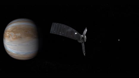 Nasa-4K-Animated-Visualization-Of-Juno-Spacecraft-With-Jupiter-In-Distance-1