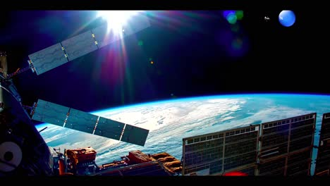 Amazing-Shots-Of-Earth-From-The-International-Espacio-Station-In-4K
