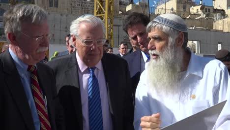Us-National-Security-Advisor-John-Bolton-Tours-Jerusalem-Israel-And-The-Wailing-Wall-Western-Wall