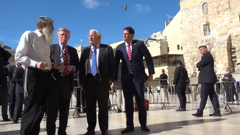 Us-National-Security-Advisor-John-Bolton-Tours-Jerusalem-Israel-And-The-Wailing-Wall-Western-Wall-1
