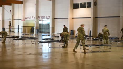 Oregon-National-Guard-Soldiers-Assemble-A-Coronavirus-Medical-Ward-N-The-Jackman-Long-Building