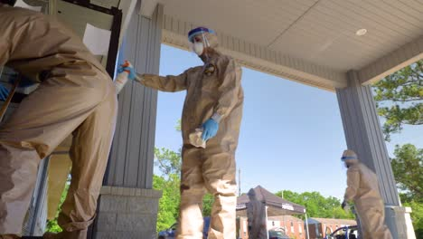 Members-Of-The-National-Guard-Sanitize-An-Senior-Living-Facility-During-Covid19-Outbreak-1
