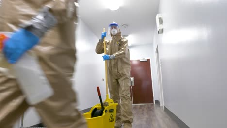Members-Of-The-National-Guard-Sanitize-An-Senior-Living-Facility-During-Covid19-Outbreak-2