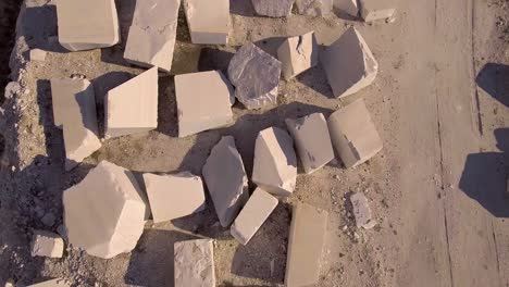 An-aerial-over-a-marble-quarry