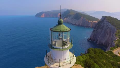 Aerial-around-the-lighthouse-at-Lefkada-Greece