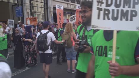 Pro-Palestinian-Protestors-Take-To-The-Streets-During-Ptotest-Marches-On-The-Streets-Of-London-England-To-Protest-The-Visit-Of-US-President-Donald-Trump