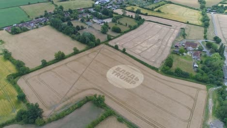 -Aerial-shots-of-a-crop-circle-in-the-United-Kingdom-England-with-writing-about-Trump-13