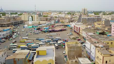 Good-aerial-over-the-downtown-region-of-Djibouti-or-Somalia-in-North-Africa-4