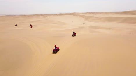 Good-aerials-over-ATV-vehicles-speeding-across-the-desert-sand-dunes-in-Namibia-Africa-3