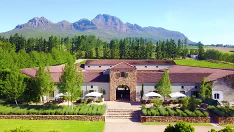 Aerial-reverse-from-a-winery-in-Stellenbosch-Cape-Town-South-Africa