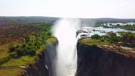 Aerial-shot-of-majestic-Victoria-Falls-on-the-Zambezi-River-on-the-border-of-Zimbabwe-and-Zambia-inspiration-of-Africa-3