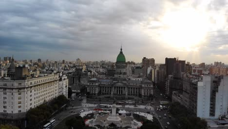 High-Aerial-Over-Plaza-Del-Congreso-In-Buenos-Aires-Argentina-South-America-1