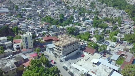 Amazing-aerial-over-the-slums-favela-and-shanty-towns-in-the-Cite-Soleil-district-of-Port-Au-Prince-Haiti-1