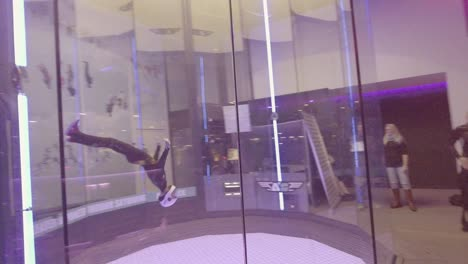A-parabolic-chamber-indoor-skydiving-simulator-allows-people-to-float-as-if-in-a-weightless-zero-gravity-simulation-in-Bruges-Belgium-2