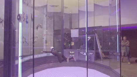A-parabolic-chamber-indoor-skydiving-simulator-allows-people-to-float-as-if-in-a-weightless-zero-gravity-simulation-in-Bruges-Belgium-3