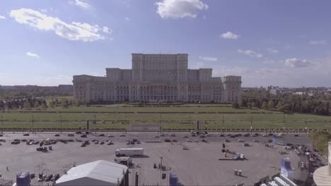 Rising-aerial-of-the-Palace-of-the-Parliament-in-Bucharest-Romania