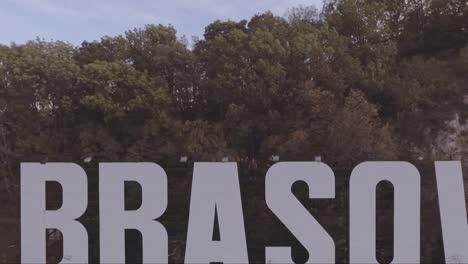 Aerial-over-the-Brasov-Transylvania-Romania-Hollywood-sign
