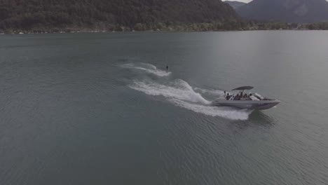 Good-aerial-of-water-skiing-wakeboard-on-alke-in-Interlaken-Switzerland