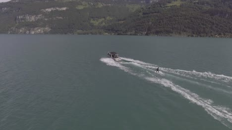 Good-aerial-of-water-skiing-wakeboard-on-alke-in-Interlaken-Switzerland-4