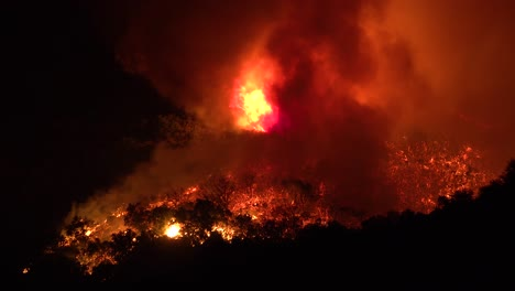 Night-Footage-As-The-Cave-Fire-Near-Santa-Barbara-California-Burns-Vast-Acres-Of-Southern-California-Hillsides-3