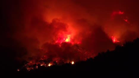 Night-Footage-As-The-Cave-Fire-Near-Santa-Barbara-California-Burns-Vast-Acres-Of-Southern-California-Hillsides-4