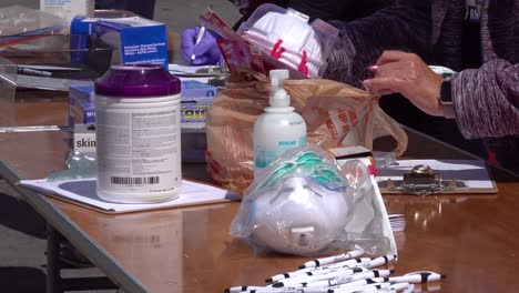 People-Donate-Masks-And-Other-Supplies-To-A-Local-Hospital-During-The-Coronavirus-Covid19-Pandemic-Epidemic-Outbreak-2