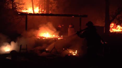 Night-Firefighters-Fire-Fighting-During-Lightning-Complex-Fire-In-Santa-Cruz-Mountains-California