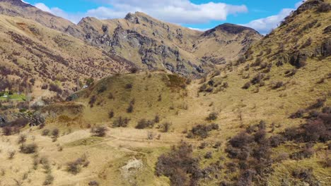 Aerial-Over-The-Shotover-River-Valley-Near-Queenstown-New-Zealand-2