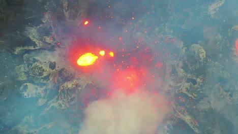 Stunning-Dramatic-Aerial-Over-Mt-Yasur-Volcano-Volcanic-Eruption-Lava-On-Tanna-Island-Vanuatu-6