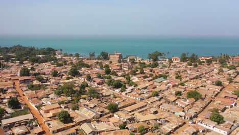 Good-Aerial-Views-Of-A-Coastal-City-In-West-Africa-Banjul-Gambia-1