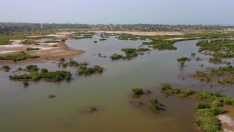Good-Aerial-Views-Of-A-Coastal-Region-In-West-Africa-Near-Banjul-Gambia-3