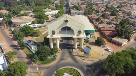 Aerial-View-Of-Arch-22-Gateway-To-Gambia-West-Africa-2